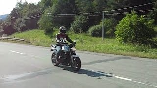 honda cbf 600 n without exhaust