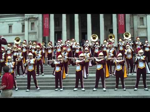 USC Trojan Marching Band Tusk