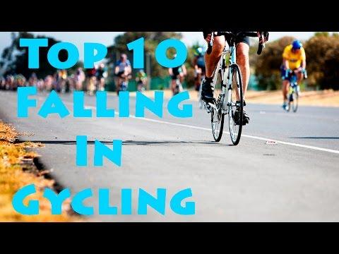 TOP 10 Falling In Cycling. Падения в велоспорте|| FunFailTop 2016