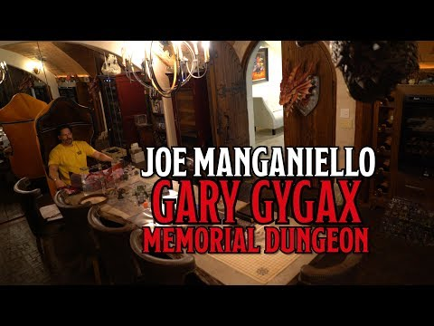 Joe Manganiello's 'Gary Gygax Memorial Dungeon'