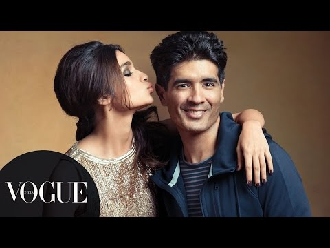 Celebrating 25 Years of Manish Malhotra | Photoshoot Behind-the-Scenes | VOGUE India