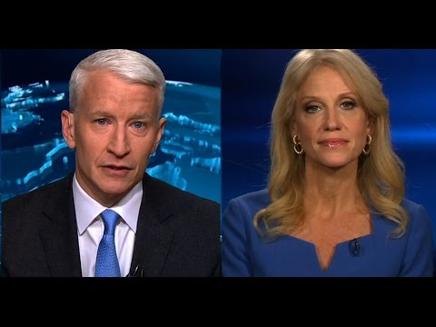heated interview, Anderson Cooper, Trump senior advisor Kellyanne Conway responds to Russia reports