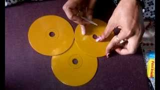 Key Holder Making (Step 1) : How to Stick CD : Tutorial by My Hobby Center