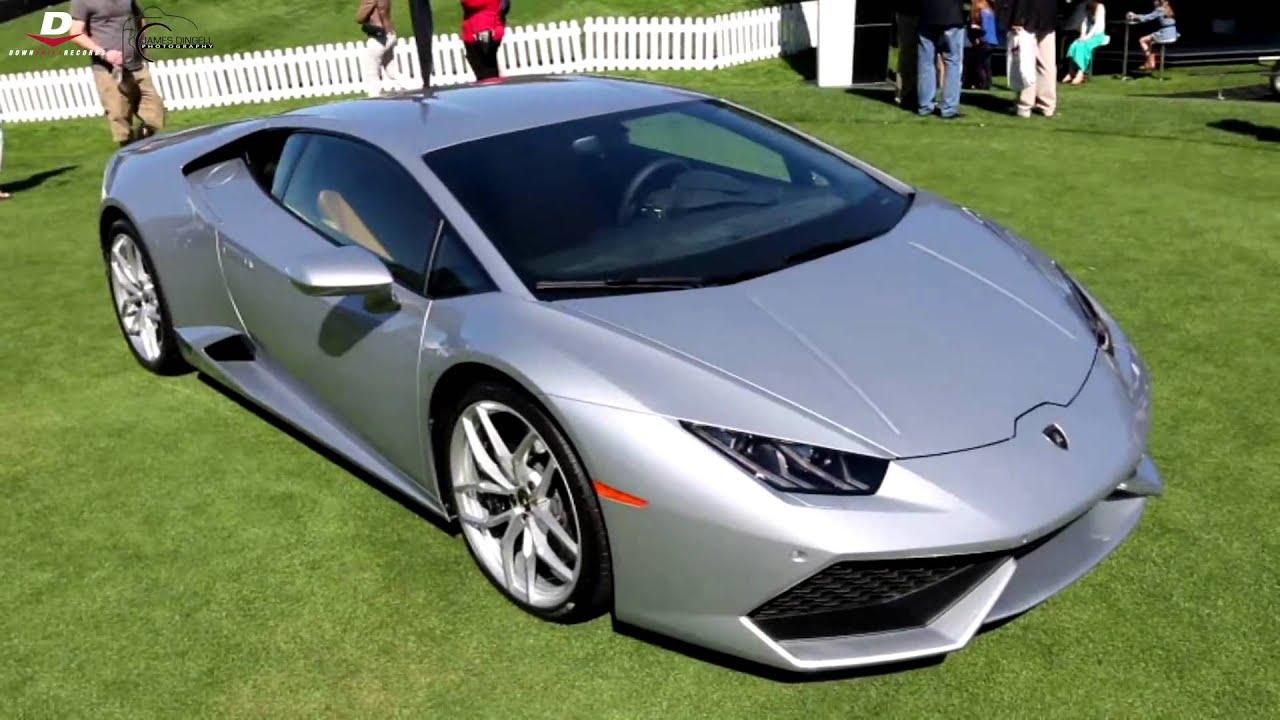 Lamborghini Huracán in Silver - YouTube
