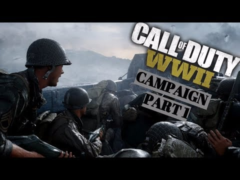 Call of Duty WW2 Campaign Part 1