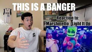Baixar ITS A BANGER - Marshmello - Light It Up ft. Tyga & Chris Brown (Official Music Video) - REACTION!