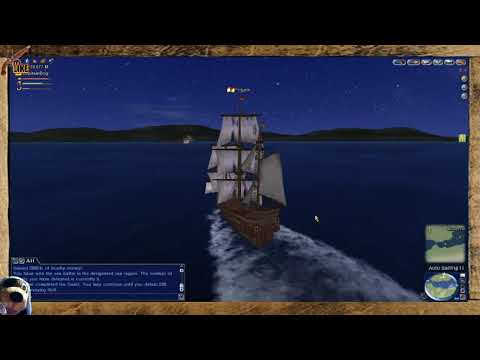 EP:10 - UNCHARTED WATERS ONLINE GAMEPLAY PT BR 2021 , NOVO SHIP FRIGATE.