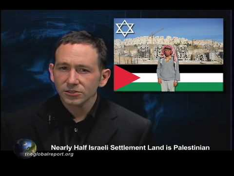 Nearly Half Israeli Settlement Land is Palestinian
