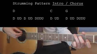 Bradley Cooper Too Far Gone EASY Guitar Tutorial With Chords Lyrics.mp3