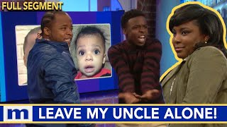 My uncle's not your sugar daddy....Nor your baby daddy! | The Maury Show