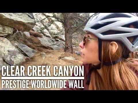Trad Climbing Clear Creek Canyon - Prestige Worldwide Wall