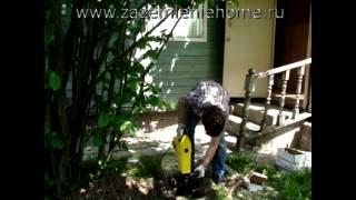 Монтаж заземления для частного дома(Вторая часть ролика, посвященная сравнению комплектов заземления из нержавеющей стали и омедненных штырей..., 2015-06-10T07:04:53.000Z)