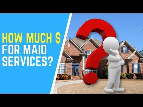 How Much For Professional House Cleaning Services?