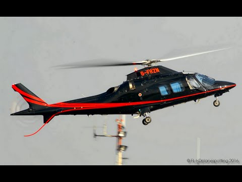 Private Agusta A-109  Landing & Takeoff at London Heliport [EGLW]