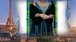 Aliexpress Вечернее платье  (есть большой размер) Меховая накидка