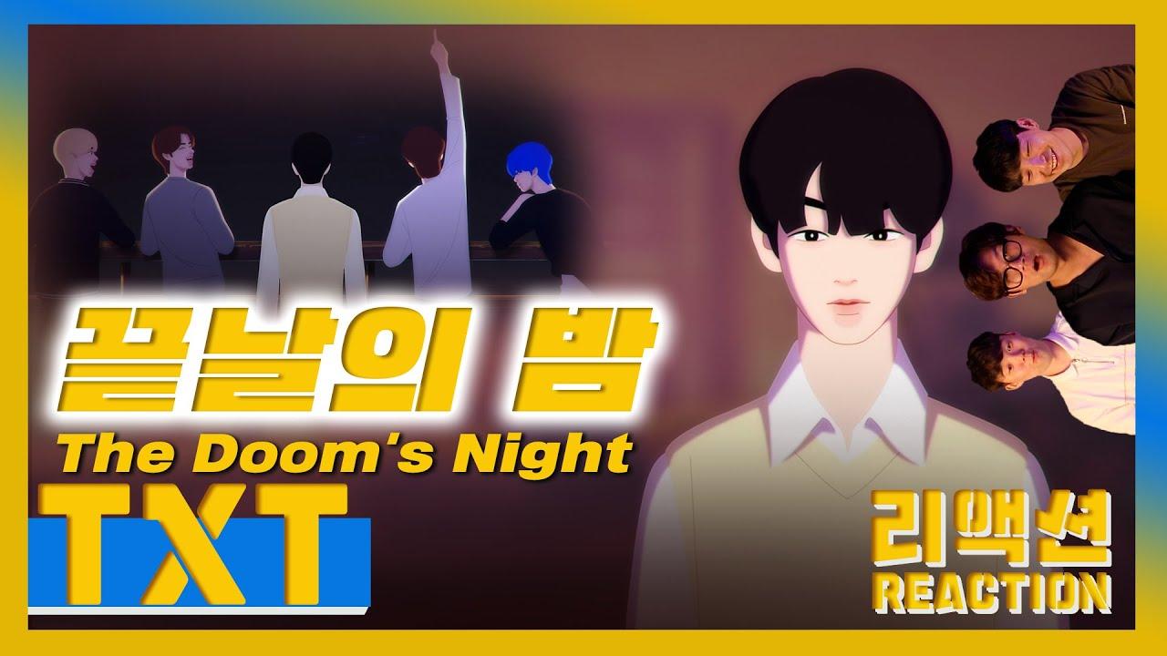 [ENG] TXT - 'The Doom's Night Official Animation' (Reaction)🇺🇸 / 투모로우바이투게더 - 끝날의 밤 리액션🎬