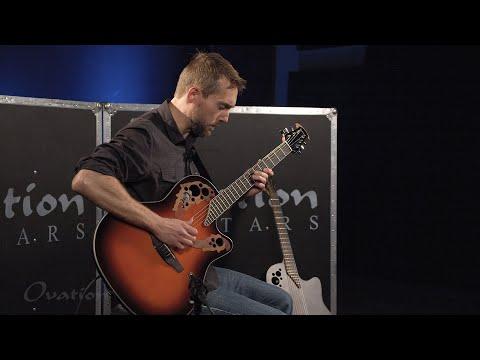 hqdefault - Ovation Richie Sambora Elite Double Neck Signature Guitar W/Hard Case