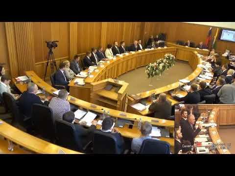 Скандальное выступление депутата Колесникова. Видео: ЕГД