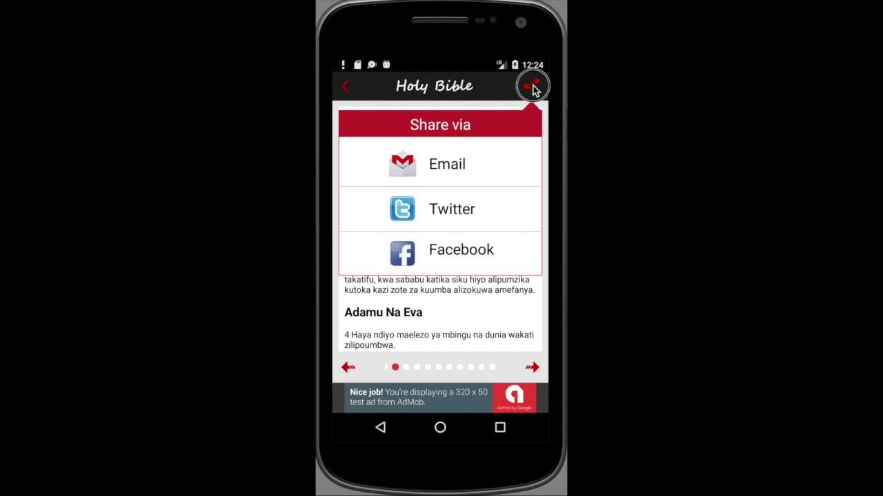 Biblia Takatifu Swahili 1 0 1 APK Download - Android 教育 应用