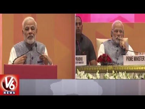 PM Narendra Modi Speech At India's Business Reforms Event | Delhi | V6 News