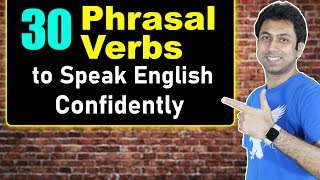 30 English Phrasal Verbs with Meaning | Learn English Speaking | Awal