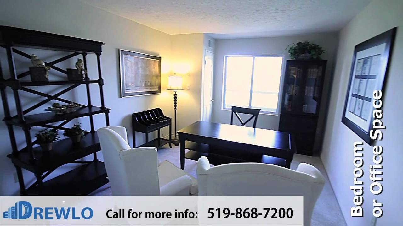 Capulet Towers Essex Model 2 Bedroom Apartment For Rent In London Ontario Youtube