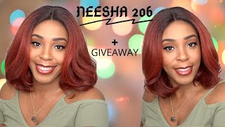 Outre Synthetic HD Lace Front Wig - NEESHA 206 +GIVEAWAY --/WIGTYPES.COM
