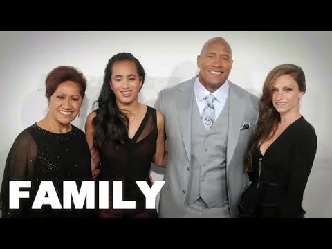 Dwayne Johnson The Rock Family Photos Parents Brother Sister Wife Daughter 2018 Youtube