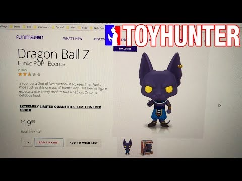 Funimation Funko PoP! Beerus Pre Order, What a Mess!