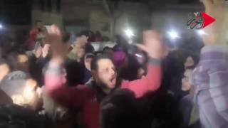 بالفيديو.. تشييع جثمان سائق التوك توك شبين الكوم ضحية ضابط المرور