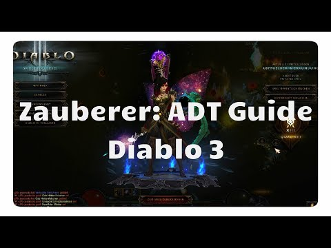 Diablo 3: Zauberer ADT Farmbuild (1000/Stunde)