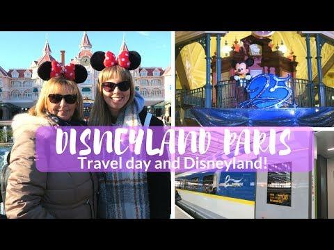 DISNEYLAND PARIS 2018  Day 1  Travel Day