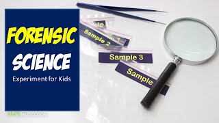 Gambar cover Forensic Science - Crime Scene Investigation Experiments from Activity Kit for Kids