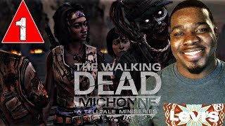 Walking Dead Michonne Episode 2 Gameplay Walkthrough Part 1 - Give No Shelter - Lets Play