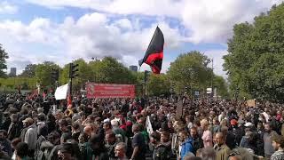 Manifestation contre le travail à Paris le 12 septembre 2017 vidéo 2