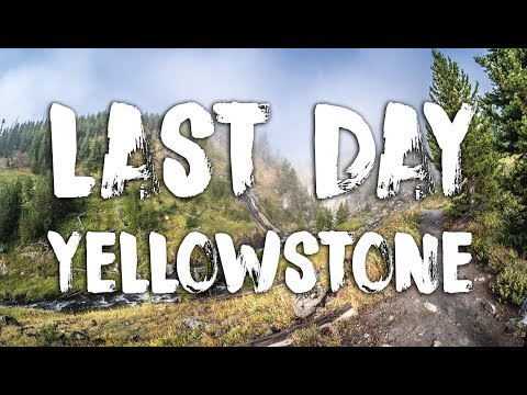 Our Last West Yellowstone Trip Into the Fog to Mystic Falls