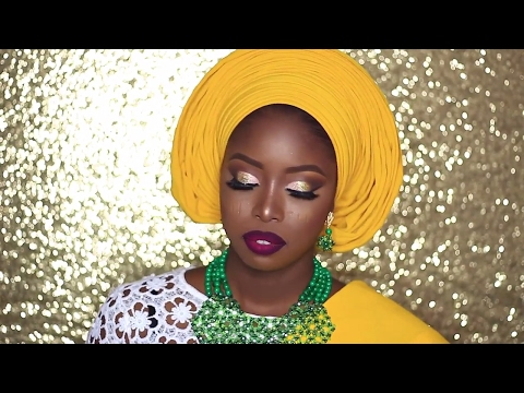 NIGERIAN BRIDAL INSPIRATION: YORUBA BRIDEGELE TUTORIAL