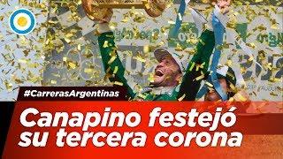 Agustín Canapino festejó su tercera corona - #CarrerasArgentinas