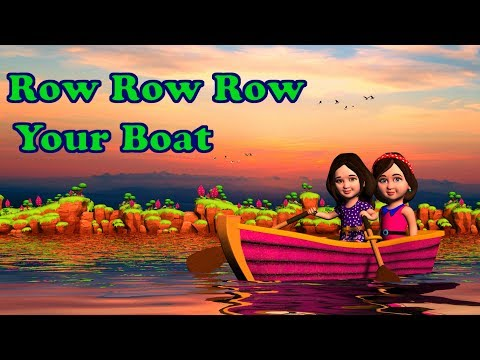 Row Row Row Your Boat Song Lyrics   Nursery Rhymes for Kids from Mum Mum TV