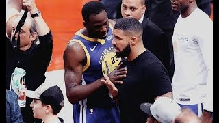 Drake Reacts To Kevin Durant Injury Game 5 Warriors Raptors