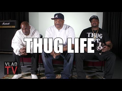 "Thug Life on Biggie & 2Pac Doing ""Runnin',"" Biggie to Rep Thug Life"