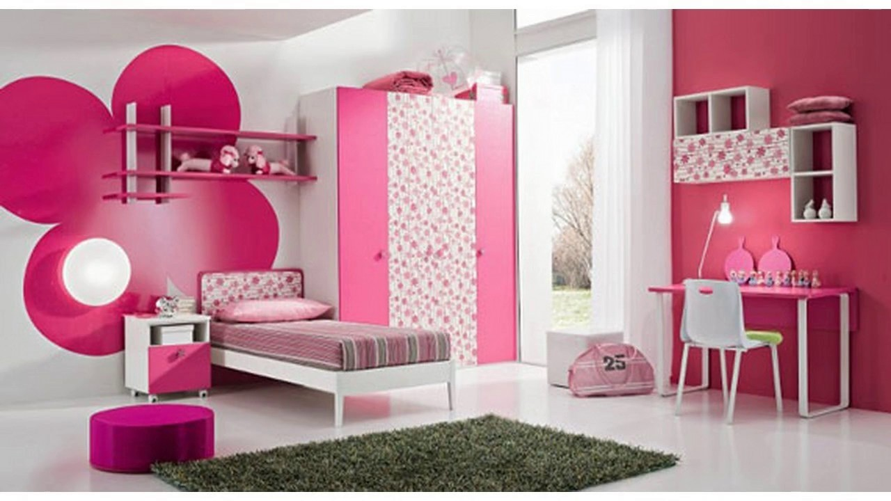 Ideas de dise o de color para dormitorio de ni as youtube for Cuartos para ninas y adolescentes
