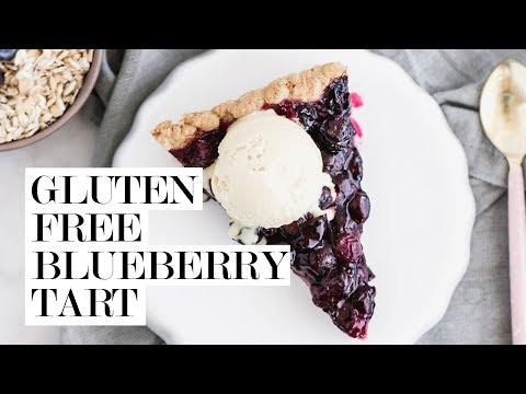 Gluten-Free Blueberry Tart | Cravings Journal