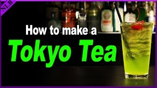 How to Make a Tokyo Tea | Popular Cocktail Recipes