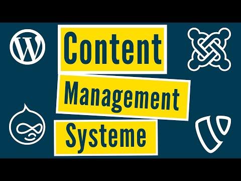 Content Management Systeme (CMS) im VERGLEICH