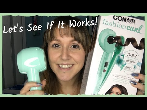 Conair Fashion Curl - Let's See If It Works!