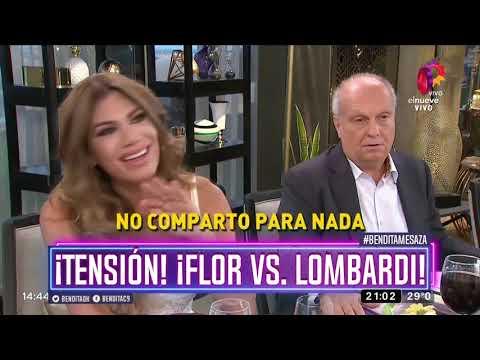¡Tensión! ¡Flor vs. Lombardi!