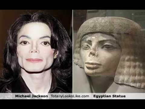 Egyptian Michael Jackson sculpture