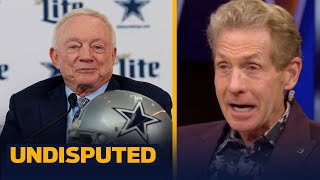 Skip reacts to Jerry Jones' grandson pushing Dallas to draft CeeDee Lamb | NFL | UNDISPUTED