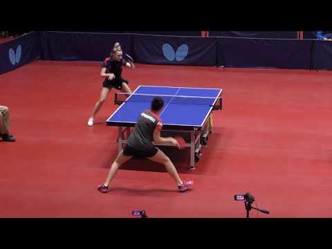 Видео: PROKHOROVA - MALININA #MOSCOW #Championships 2020 #RUSSIAN #tabletennis #настольныйтеннис